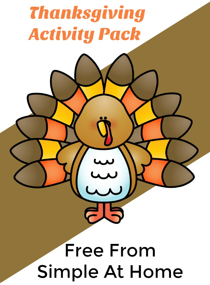 This Thanksgiving Activity Pack will keep kids busy and learning..