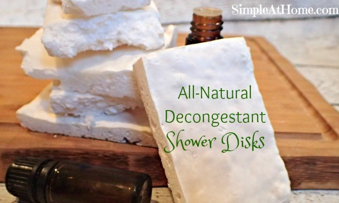 Peppermint Eucalyptus All-Natural Decongestant Shower Disks