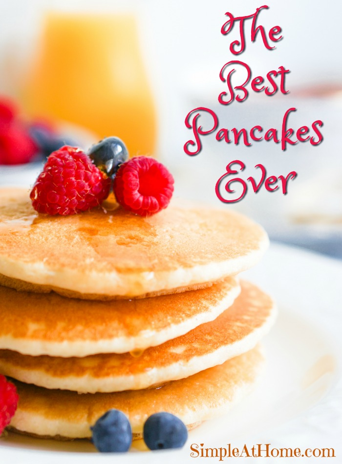 Want pancakes will love? These supper soft and fluffy pancakes are just perfect.