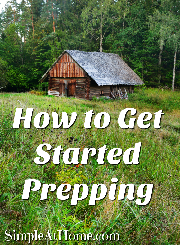 Worried about the future? Start prepping now before it's too late.