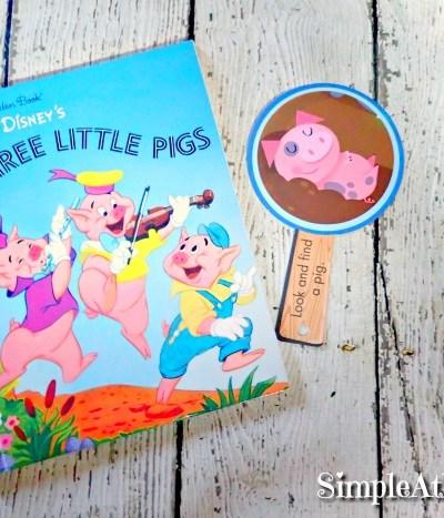 Three little pigs unit study