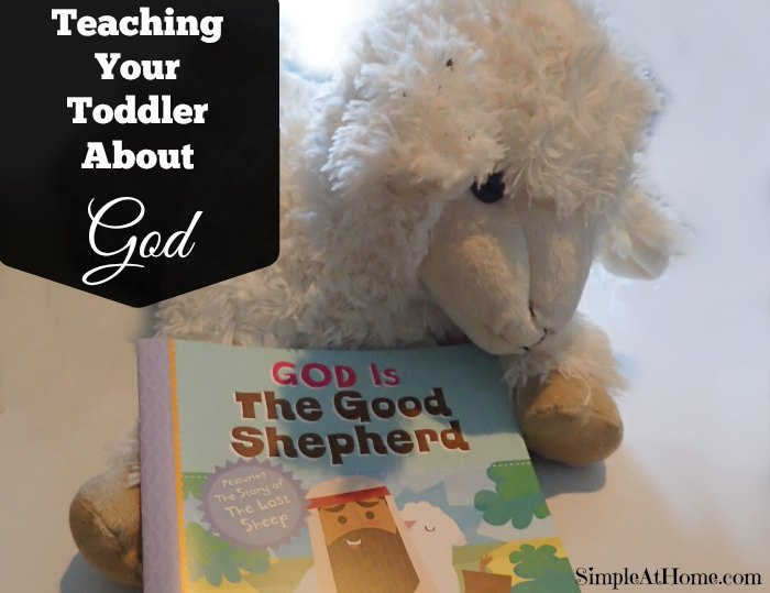 Teaching your toddler about God