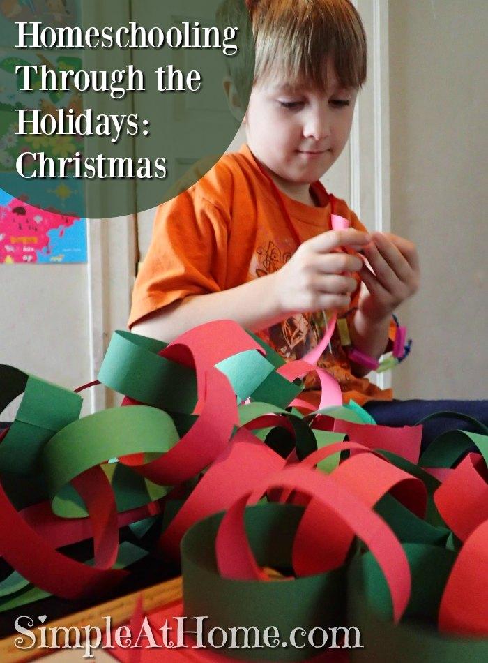 Homeschooling Through the Holidays: Christmas