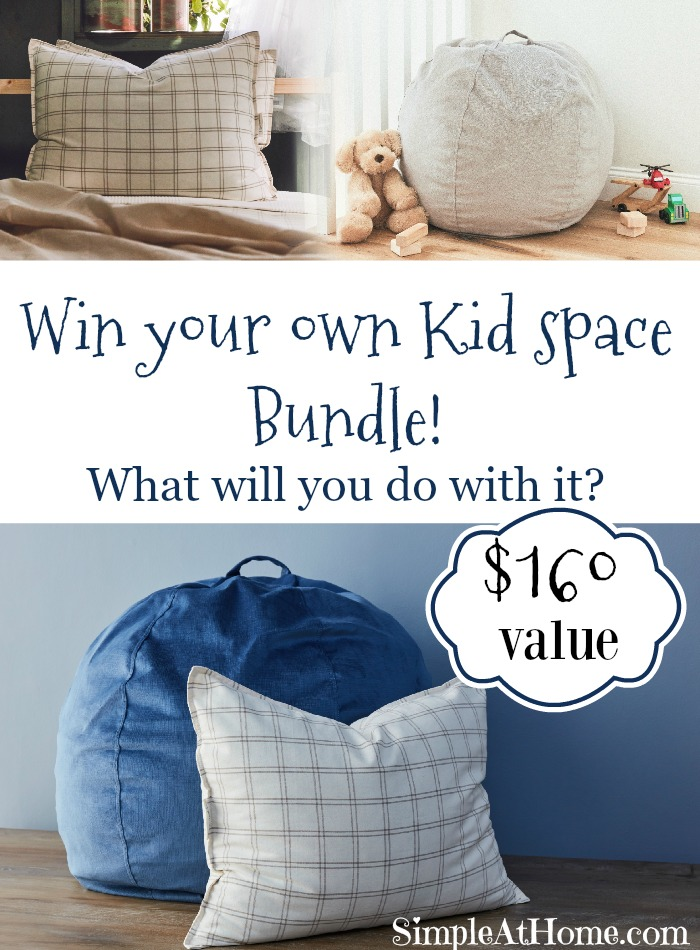Enter to win a Kid Space bundle from Brentwood Home #giveaway