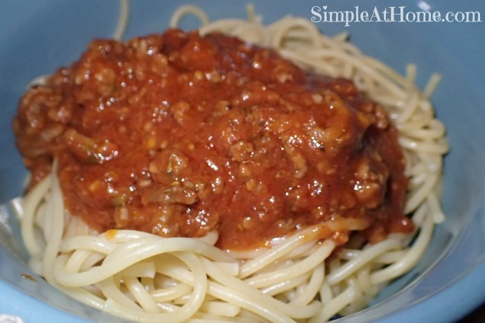 Save Money with this Frugal Homemade Pasta Sauce