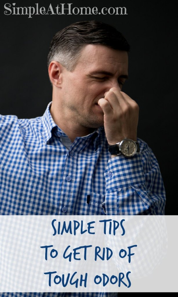 Some odors are hard to get rid of. Theses tips will help get rid of tough odors