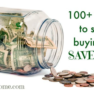 These are some great ways to save money