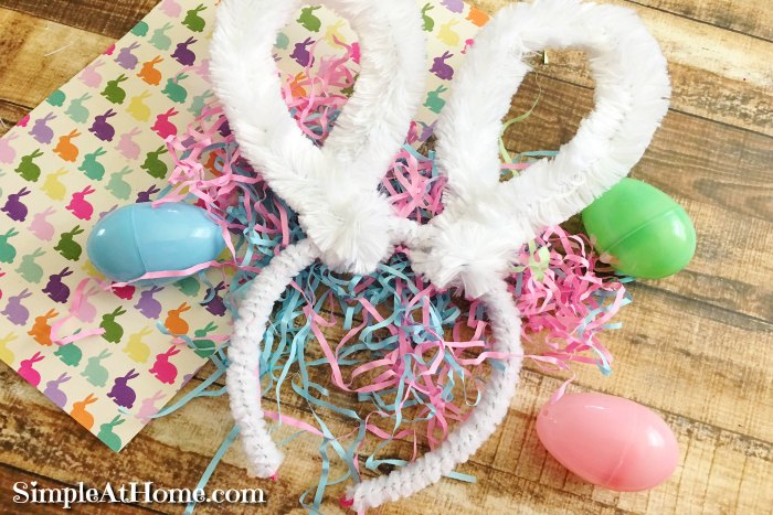 DIY Easter Bunny Headband, bunny ears