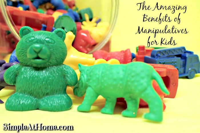 The Amazing Benefits of Manipulatives for Kids