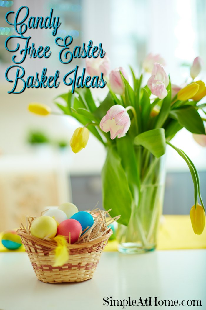 Need ideas for a fun candy free Easter basket? these are just perfect.