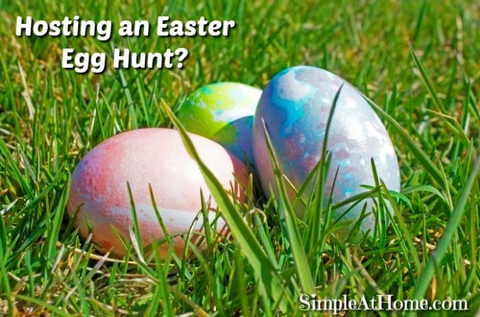 Host a Great Easter Egg Hunt