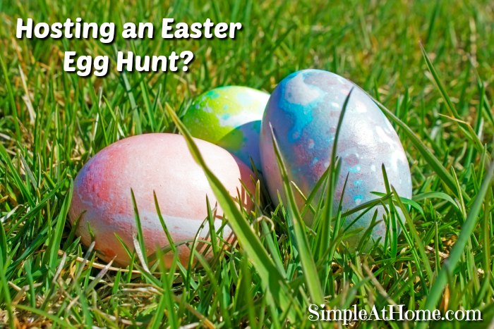 Host your own Amazing Easter egg Hunt