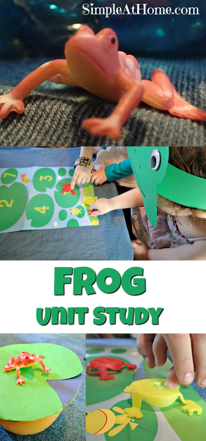 Hop on into this fun frog unit study