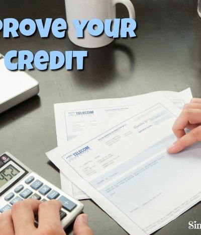 simple tips to improve your credit