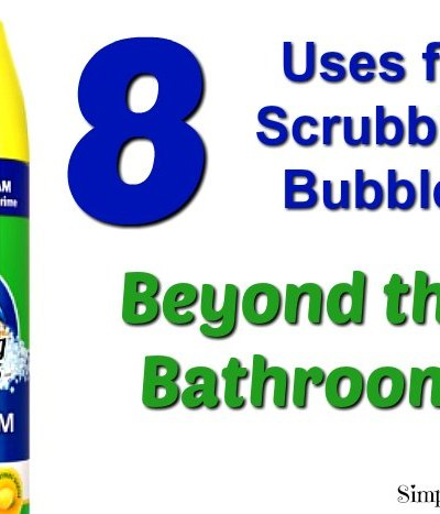 Amazing uses for scrubbing bubbles