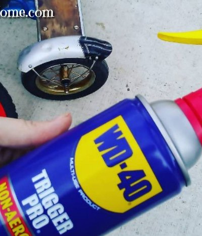 Handy uses for WD40