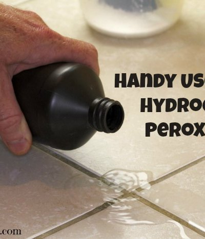 Handy Uses for Hydrogen Peroxide