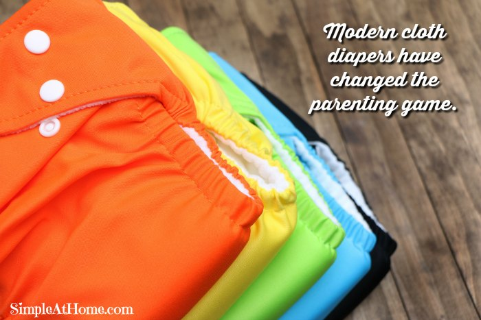 Modern cloth diapers have changed the parenting game.