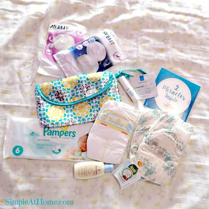 Samples in the Amazon Baby Registry Welcome Box
