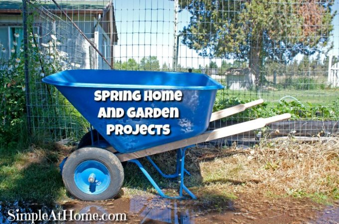 Must do Spring Projects for your Home and Garden
