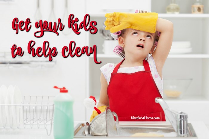 are your kids drama quens when it is time to clean? Here are some great tricks to get kids to help clean the house