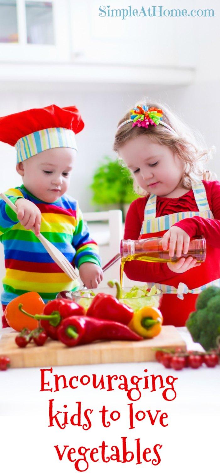 Raise Vegetable Loving Kids