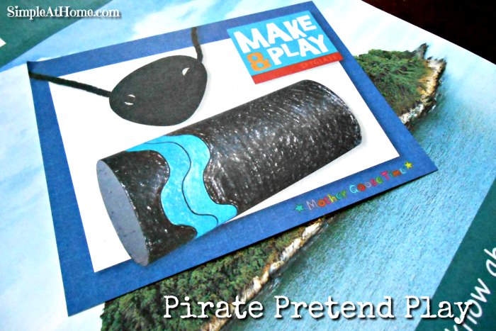 Make and play pirate set