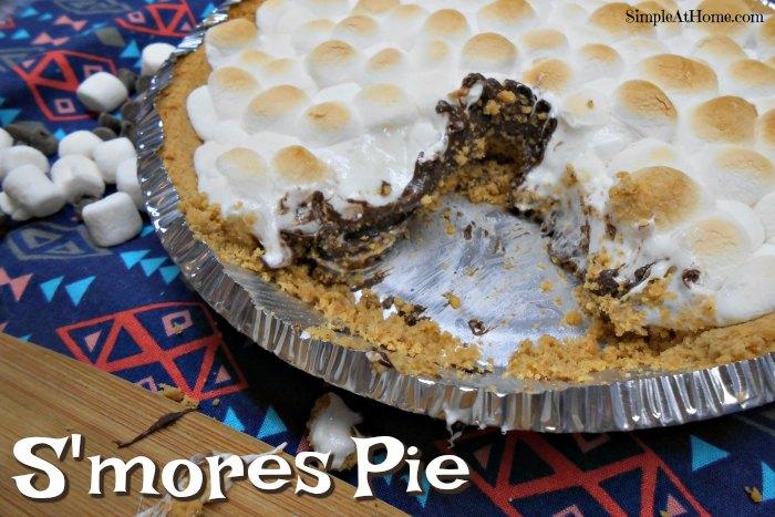 Simple S'mores Pie