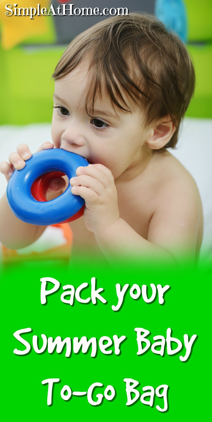 Pack your summer baby to-go bag and be ready for any adventure that comes your way + Grab a high value Luvs coupon.   parenting   diapers   baby   coupons   deals   #ad