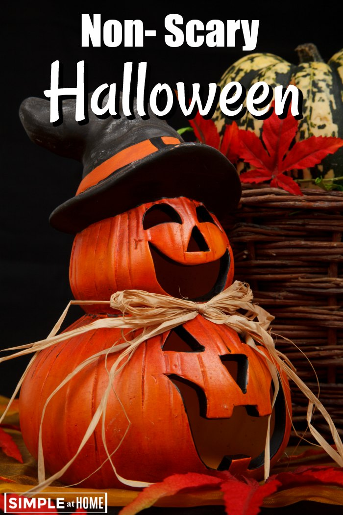 Looking for non-scary Halloween Ideas? These simple ideas will do the trick