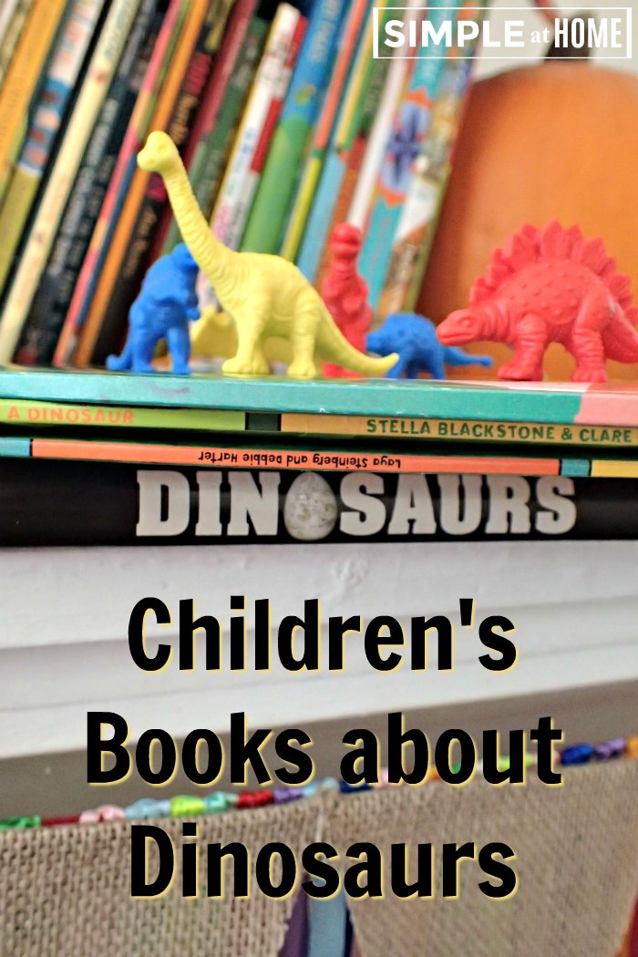 Childrens books about dinosaours