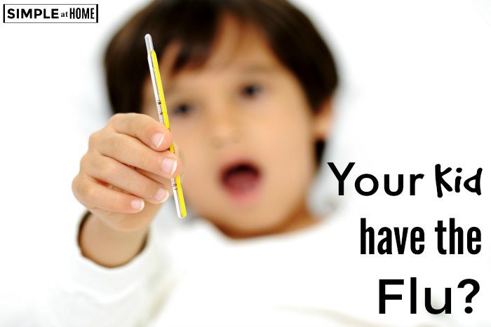Tips for comforting your child with the flu