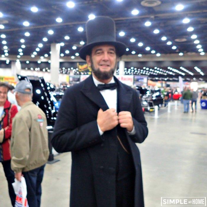 Abe Lincon at Autorama