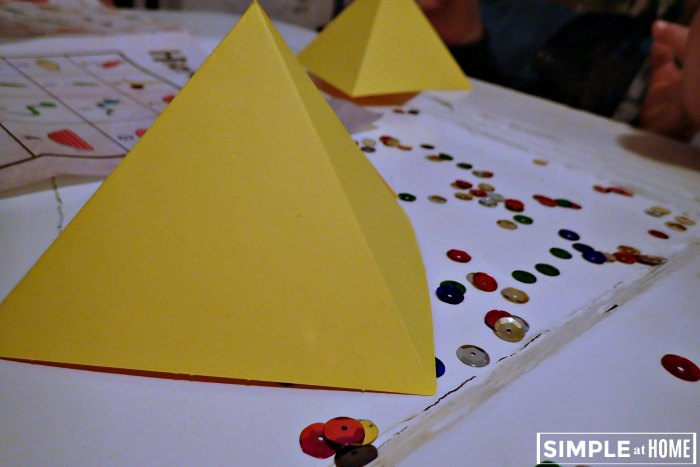 Pyramids and hieroglyphics