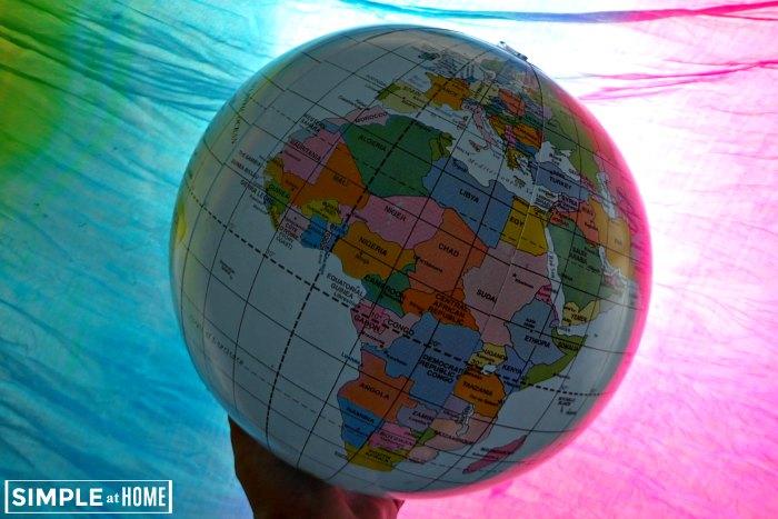 Making Geogrophy fun for kids