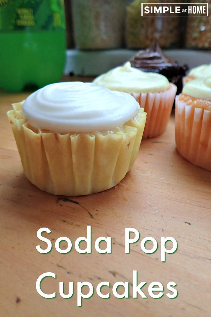 Soda Pop Cupcakes are super easy and you have an unlimited range of flavors you can play with.