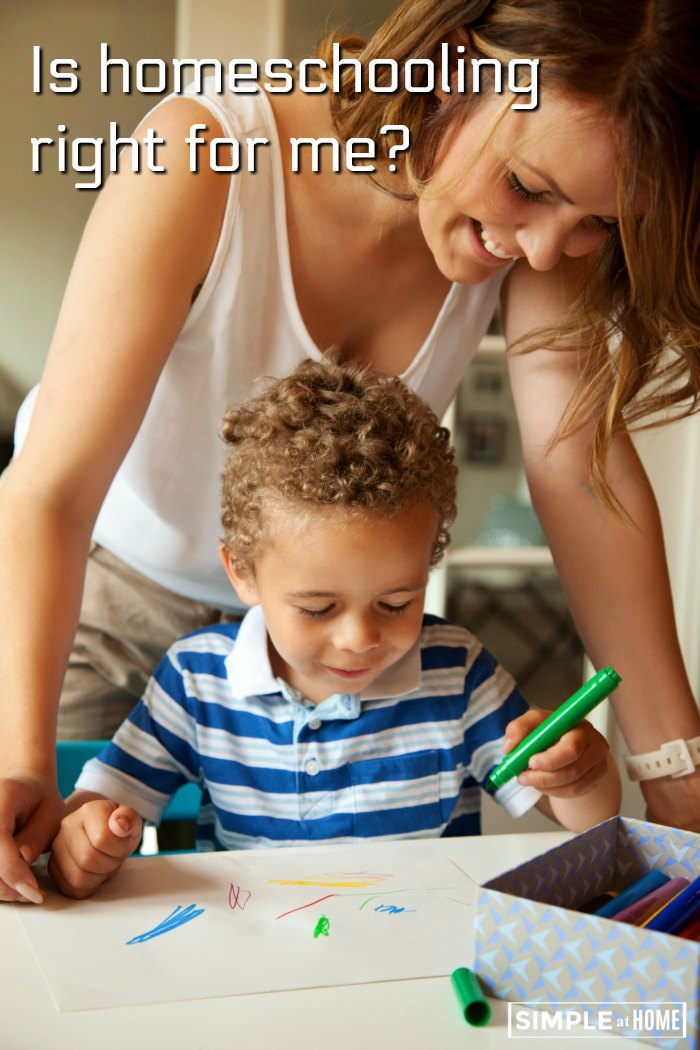 How do you know if homeschooling is right for you? This soul searching guide will help