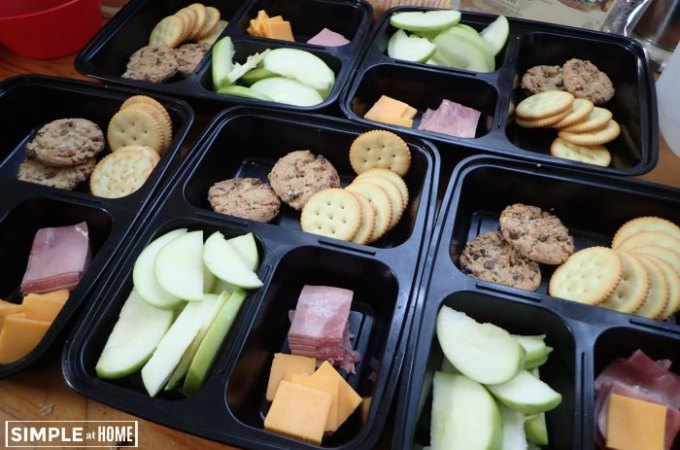 DIY Lunchables: No Cook Summer Lunch