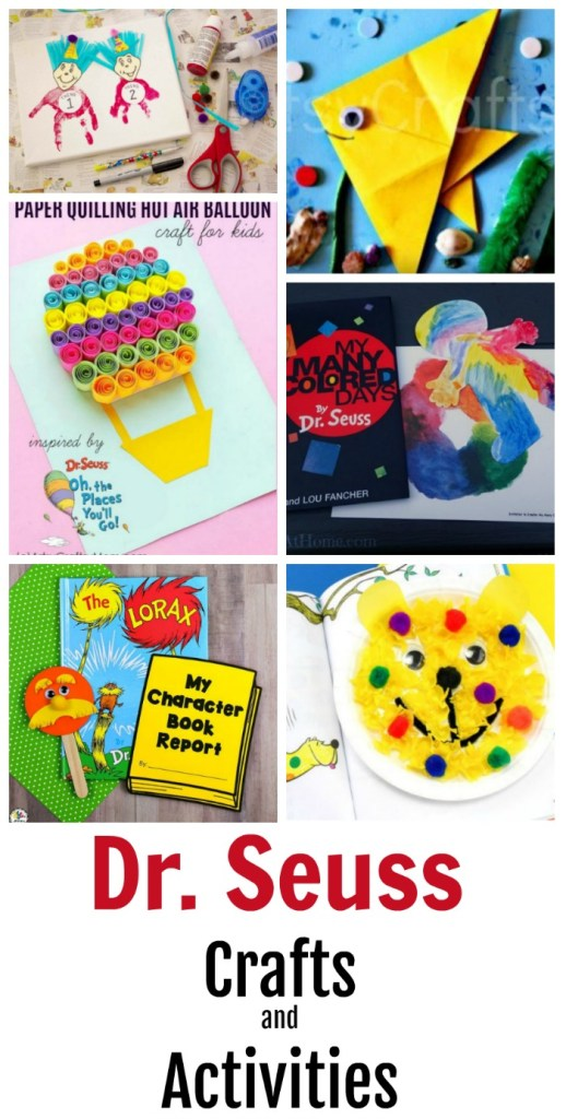 Simple and Fun Dr Seuss Crafts And Activities