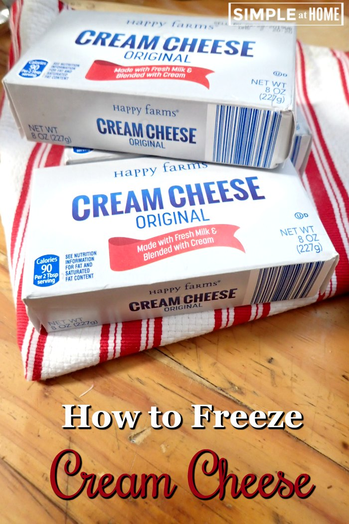 Can you freeze cream cheese? Here is hot to freeze cream cheese and how to thaw and use it after freezing.