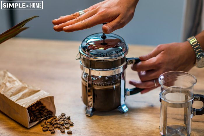 How to make french press coffee