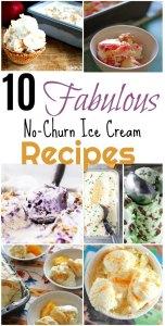 No churn ice cream recipes