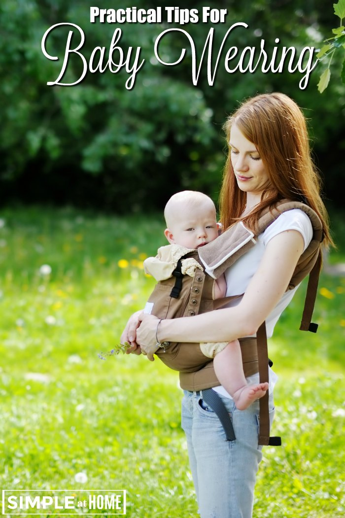 Practical Tips For Baby Wearing