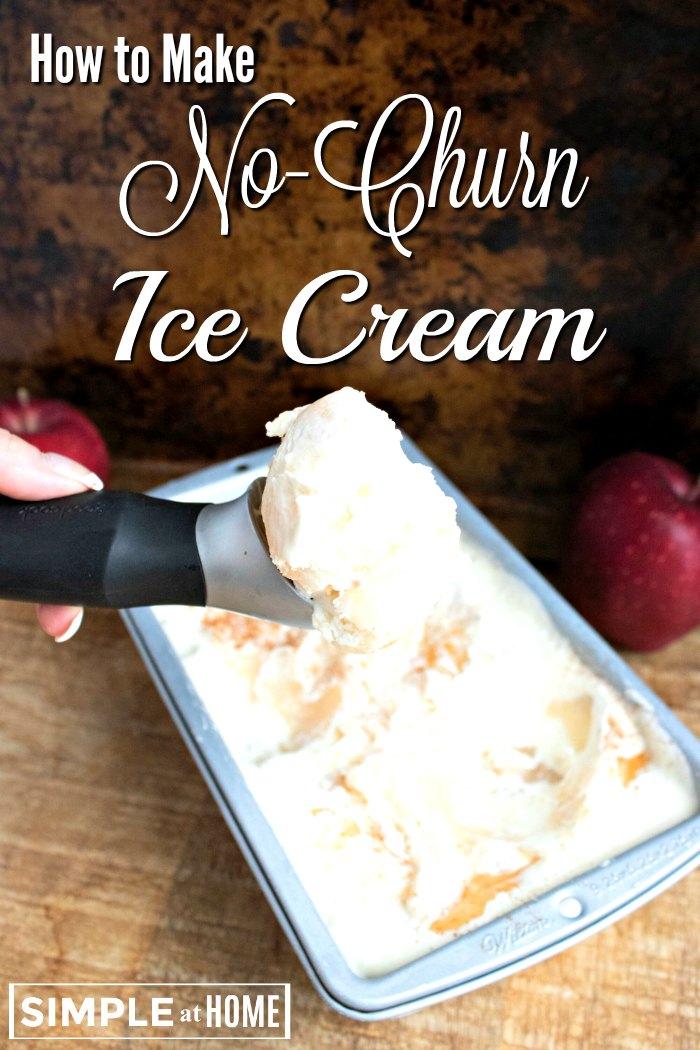 how to make no churn ice cream