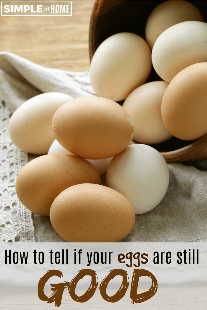 How to tell if eggs are still good