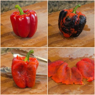 How to Roast a Red Pepper