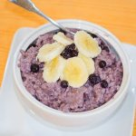 Pressure Cooker Steel Cut Oats with Mixed Berries