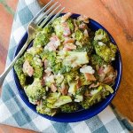 Roasted Bacon and Broccoli Salad