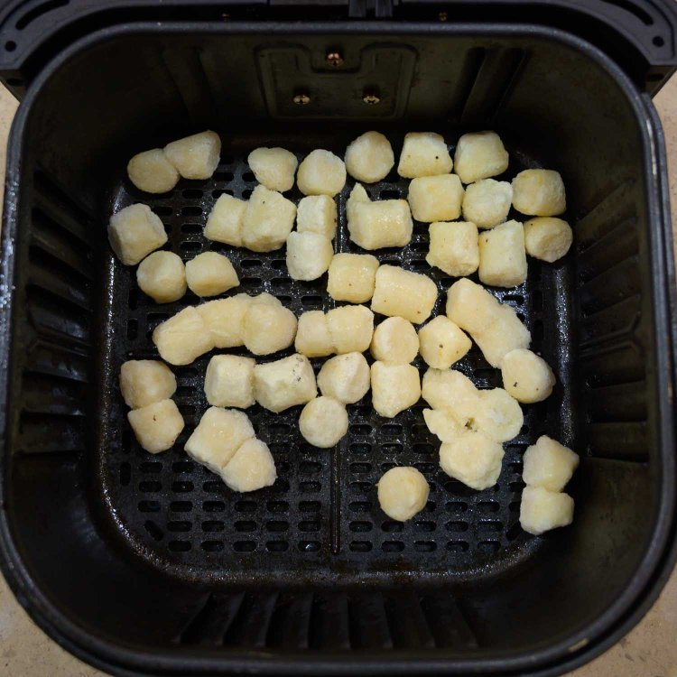 Trader Joe's Cauliflower Gnocchi About to be Air Fried