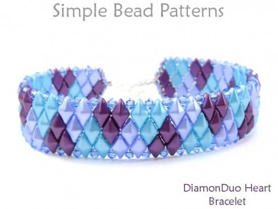 Make A Beaded Bracelet For Valentines Day With 2 Hole